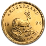 1994 1 oz Gold South African Krugerrand BU