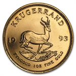 1993 1 oz Gold South African Krugerrand BU