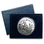 1 oz Happy Easter Silver Round (w/Box & Capsule)