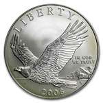 2008-P Bald Eagle $1 Silver Commemorative MS-69 PCGS