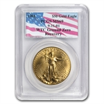 1998 1 oz Gold American Eagle MS-69 PCGS (World Trade Center)