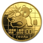 1989 1 oz Gold Chinese Panda (Not Sealed)