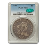 1799 Draped Bust Dollar Very Fine-25 PCGS