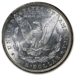 1886 Morgan Dollar MS-60 Paramount International Coin Co.