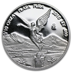 2010 1/10 oz Silver Mexican Libertad - Proof (In Capsule)