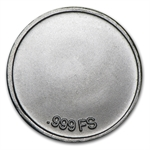 1/20 oz Footprints in the Sand Silver Round