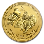 2011 1/4 oz Gold Lunar Year of the Rabbit (Series II) MS-69 PCGS