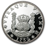 5 oz Proof Silver Round - Mexico 5 Onzas Pillar - .999 Fine
