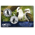 2009 & 2010 Kookaburra World Money Fair 2 Coin Set