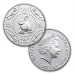 Royal Australian Mint 2011 Year of the Rabbit Silver Proof