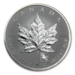 2004 1 oz Silver Canadian Maple Leaf - Capricorn Zodiac Privy