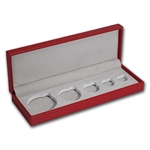 Lunar Series II (1/20 - 1 oz Gold) Red Presentation Box