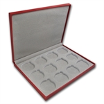 Lunar Series II (1 oz Silver) 12 coin Red Presentation Box