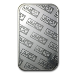 1/2 oz Johnson Matthey Silver Bar .999 Fine