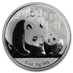 2011 - (5 oz) Silver Panda Proof (W/Box & Coa)
