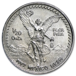 1992 1/20 oz Silver Libertad - Brilliant Uncirculated