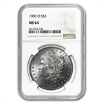 1878-1904 Morgan Dollars - MS-64 NGC - 20 Different Coins
