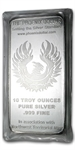 10 oz The Phoenix Dollar Silver Bar .999 Fine