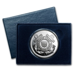1 oz U.S. Coast Guard Silver Round (w/Gift Box & Capsule)