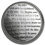 1 oz Lord's Prayer Silver Round (w/Box & Capsule)