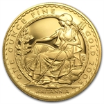 2005 1 oz Proof Gold Britannia