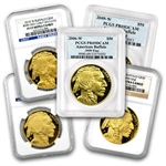 1 oz Proof Gold Buffalo PR-69 PCGS/NGC (Random Year)