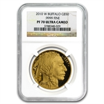 2010-W 1 oz Proof Gold Buffalo PF-70 UCAM NGC