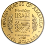 1994-W World Cup - $5 Gold Commemorative - MS-70 NGC