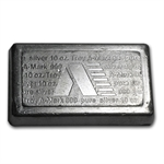 10 oz A-Mark Stackable Silver Bar .999 Fine