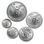 1993 1.9 oz Silver Libertad Set .999 - Brilliant Uncirculated