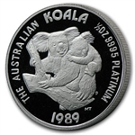 1989 1/2 oz Australian Platinum Koala (Proof)