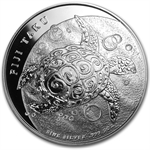 2011 5 oz Silver New Zealand Mint $10 Fiji Taku .999 Fine