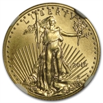2010 1/10 oz Gold American Eagle MS-70 NGC (Early Releases)