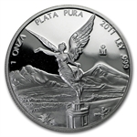 2011 1 oz Silver Mexican Libertad Proof - In Capsule