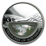 2011 1 oz Proof Silver Pearl Treasures of Australia Coin