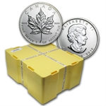 2010 Silver Canadian Maple Leaf 500-Coin Monster Box (Sealed)