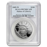 2005-W 1 oz Proof Platinum American Eagle PR-70 PCGS Registry Set
