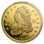 2008-W 1/2 oz Proof Gold Jackson's Liberty PR-70 PCGS DCAM