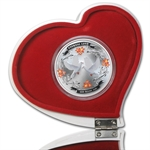 2011 1 oz Silver Niue $2 Eternal Love (W/Box & COA)