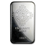 5 oz Johnson Matthey Silver Bar (Ranchers Exploration) .999 Fine