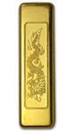 1 Tael -1.206 oz Chinese Gold Art Bar .9999 Fine (Credit Suisse)