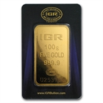 100 gram Istanbul Gold Refinery Bar (In Assay) .9999 Fine