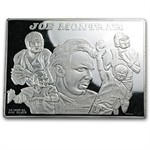 3.5 oz Silver Bar - Joe Montana Collector Card - .999 Fine