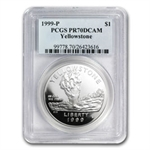 1999-P Yellowstone Park $1 Silver Commemorative - PR-70 DCAM PCGS