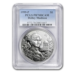 1999-P Dolley Madison $1 Silver Commemorative - PR-70 DCAM PCGS