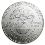 1991-D USO $1 Silver Commemorative - MS-70 PCGS