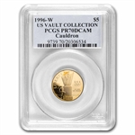 1996-W Cauldron - $5 Gold Commem - PR-70 DCAM PCGS (Registry Set)