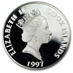 Cook Islands 1997 50 Dollars Silver Proof History by Century