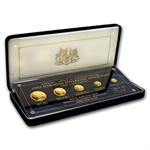 1993 Gold Hawaiian Sovereign Collection 5 Piece Proof Set