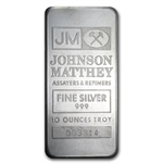 10 oz Johnson Matthey Silver Bar (Ranchers Exploration)